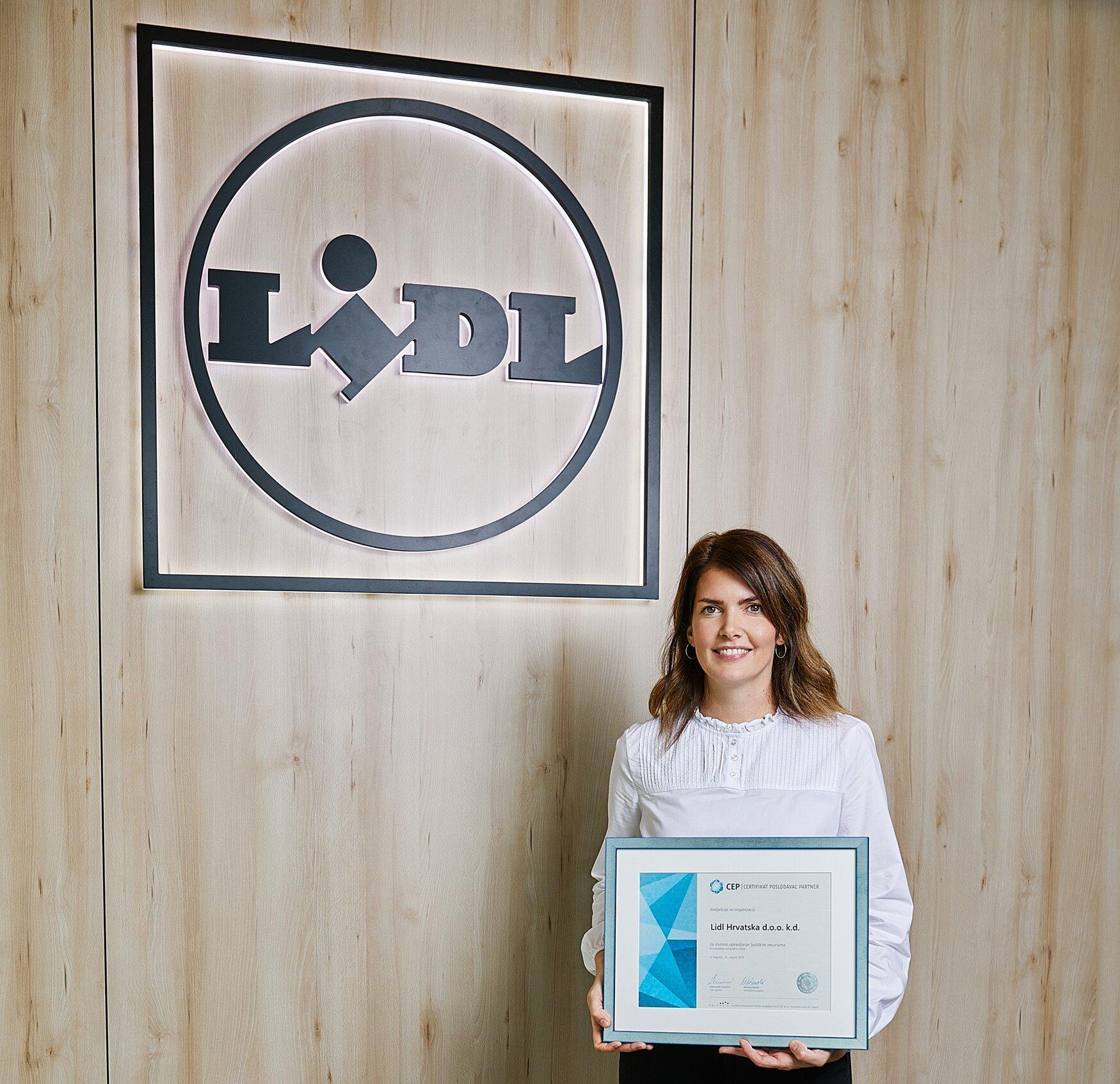 Lidlu i ove godine dodijeljen certifikat Poslodavac Partner