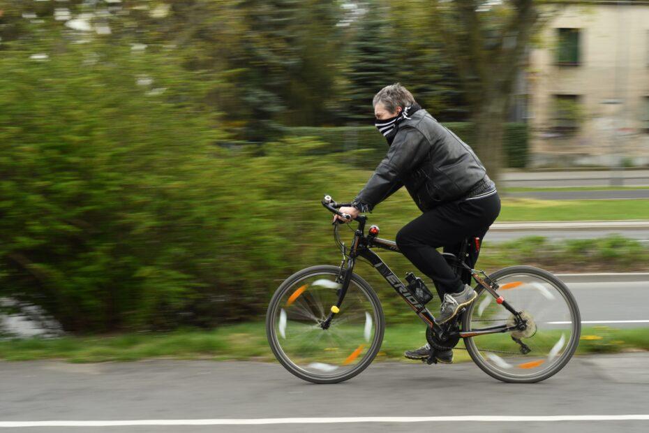 covid -19, bike, virus