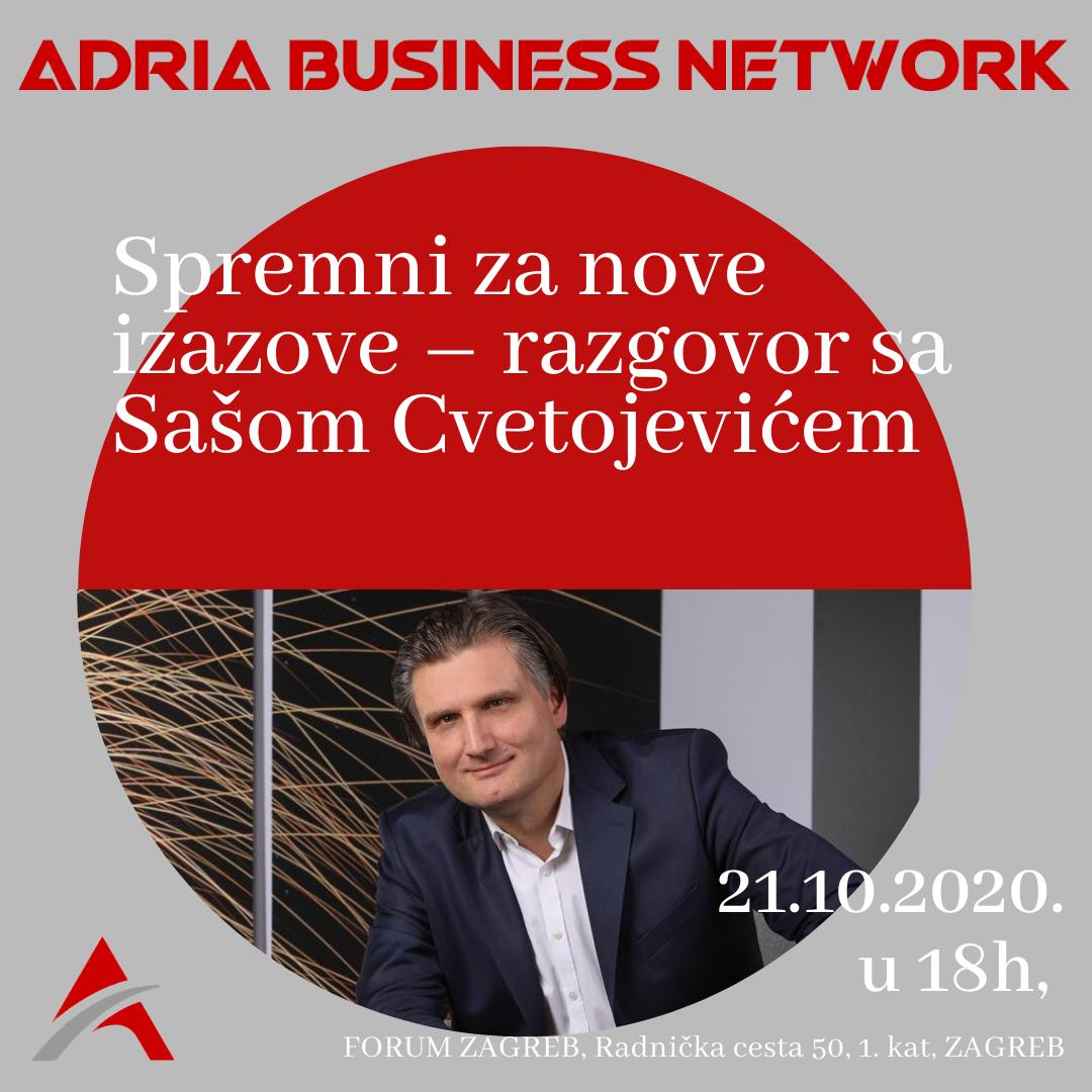 Saša Cvetojević – Spremni za nove izazove