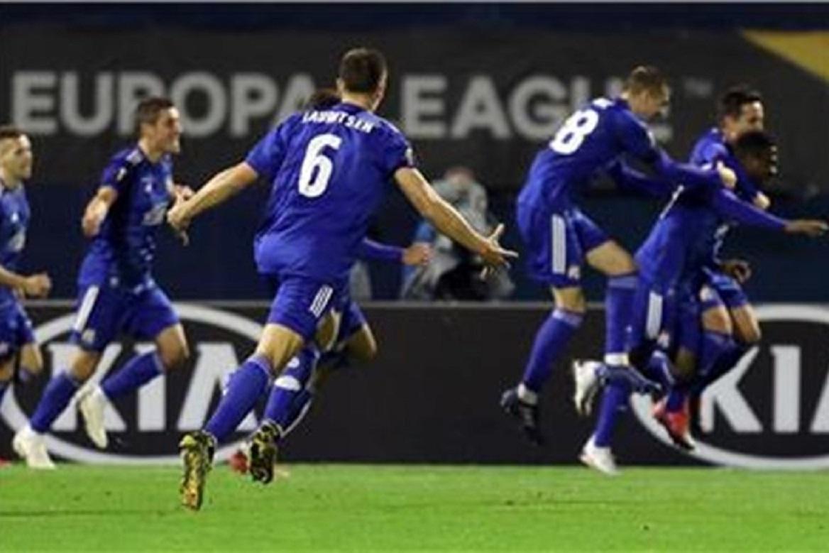 Dinamu prva pobjeda u Europskoj ligi
