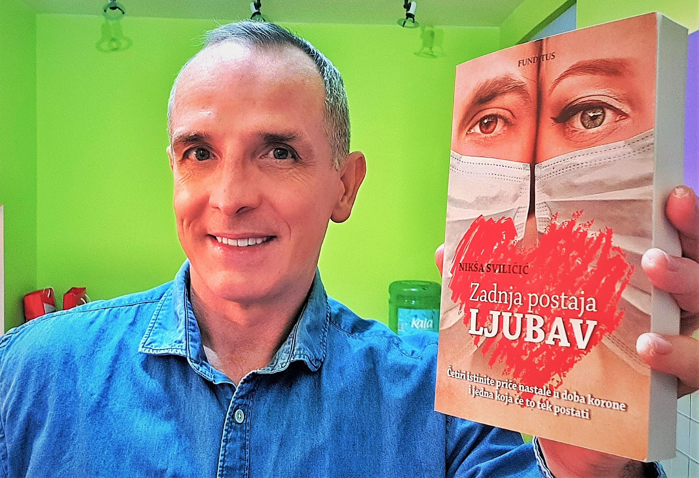 """Razgovor sa sveučilišnim profesorom i piscem Nikšom Sviličićem, povodom izlaska njegovog novog romana """"Posljednja postaja Ljubav"""""""