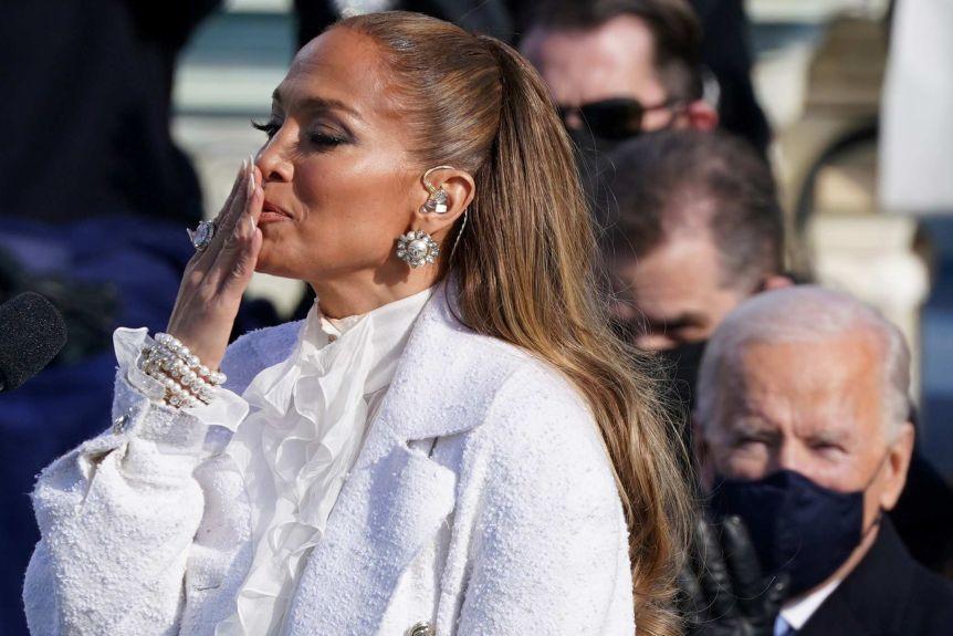 Nastup Jennifer Lopez na inauguraciji Joea Bidena