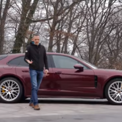 Porsche Panamera Sport Turismo 4S – Jura se fura