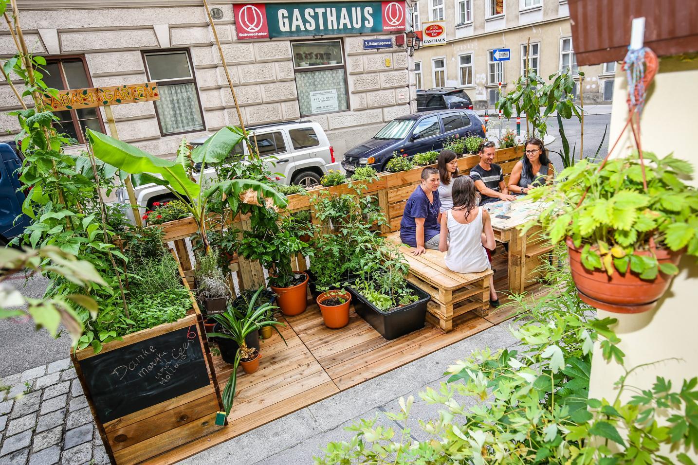 Beč potiče uređenje kvartovskih oaza