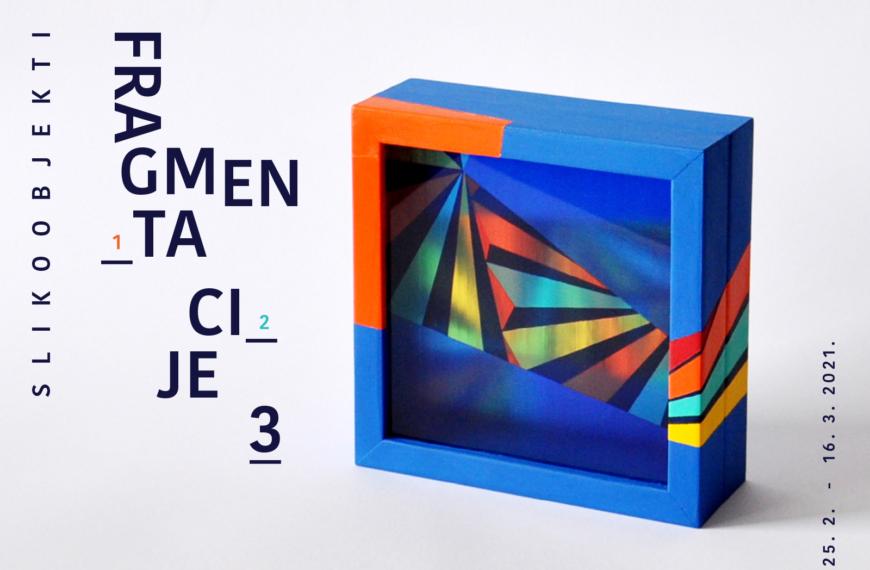 Izložba FRAGMENTACIJE 3 Ljiljane Barković u HUIU galeriji