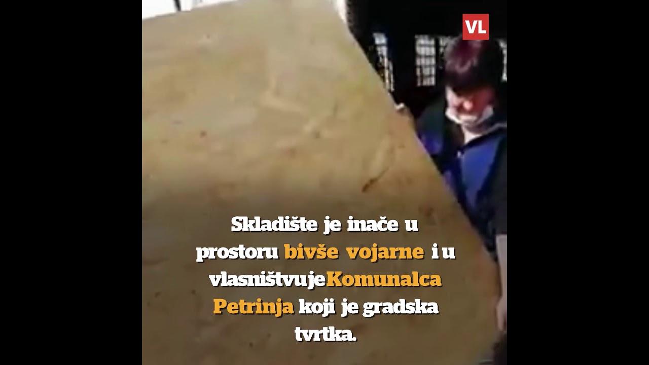 Petrinjci ušli u skriveno skladište predvođeni Inicijativom branitelja