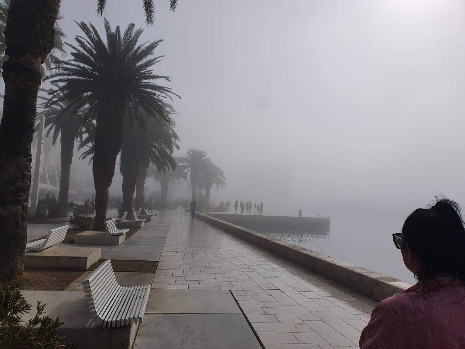 Magla je u Splitu