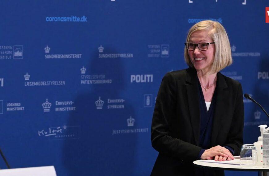Čelnica danske Agencije za lijekove srušila se na konferenciji o prestanku cijepljenja AstraZenecom