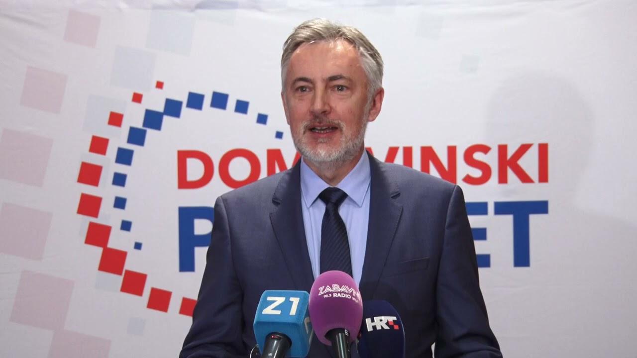 Sporazum o izbornoj suradnji Domovinskog pokreta i Zelene liste Nenada Matića