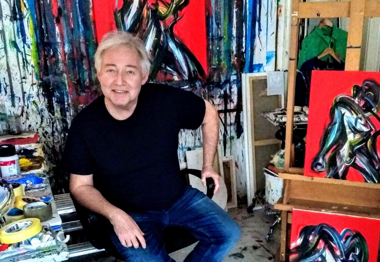 Duško Šibl – od zelenog čovjeka do portreta i kolaža