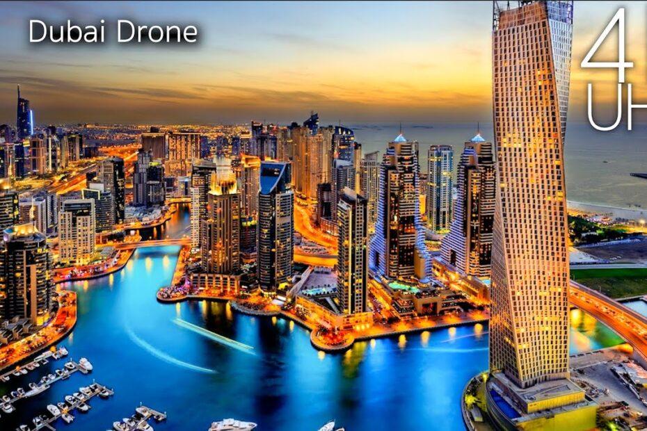 Dubai snimljen dronom u 4K UHD