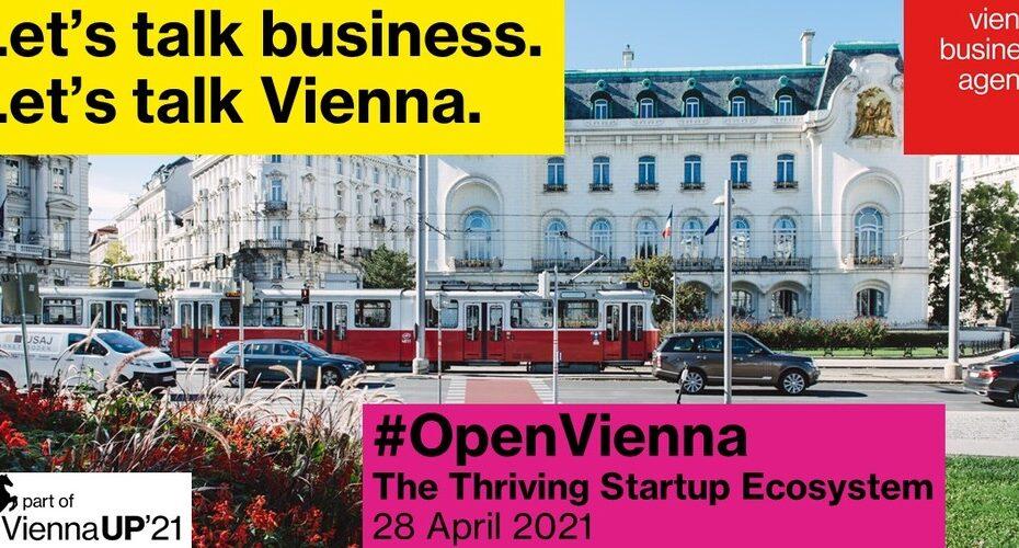Virtualno događanje Open Vienna za poduzeća koja žele unaprijediti svoje poslovanje