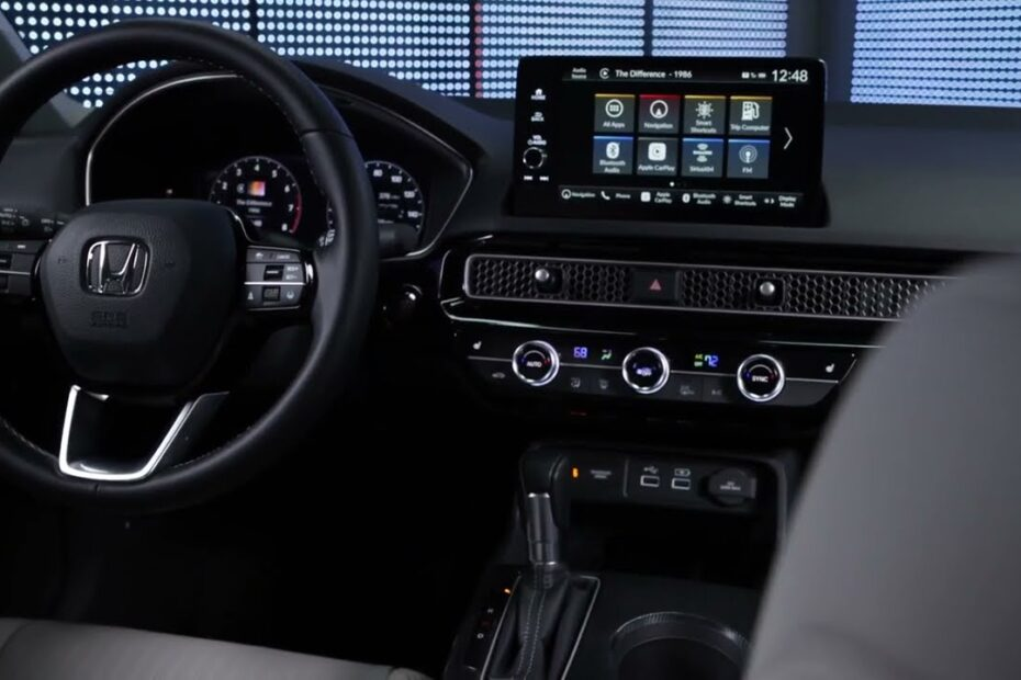 Honda CIVIC 2022 – novi INTERIJER