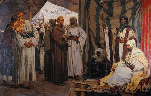 T.M. Bilosnić – Molitva svetom Franji /arapski/ توميسلاف ماريجان بيلوسنيتش صلاة القديس فرنسيس