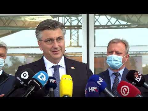 Premijer u Zadru posjetio ŠCR Višnjik i gradilište olimpijskog bazena