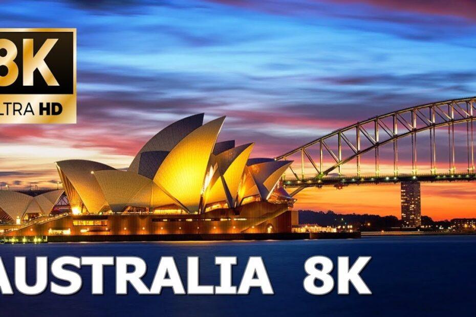 Australija, neboderi i predjeli – snimljeno dronom u 8K Ultra HD