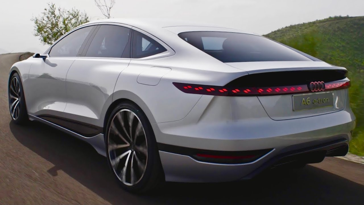 NOVI Audi A6 e-tron koncept 2022 – vožnja, zvuk i luda tehnologija