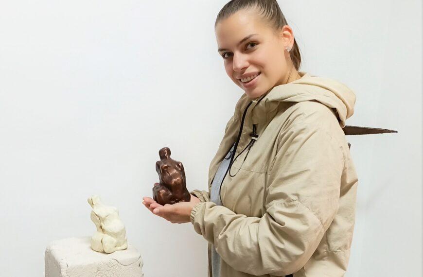 Gospođa kipar / Madame sculpteur – Kreativna industrija Europe