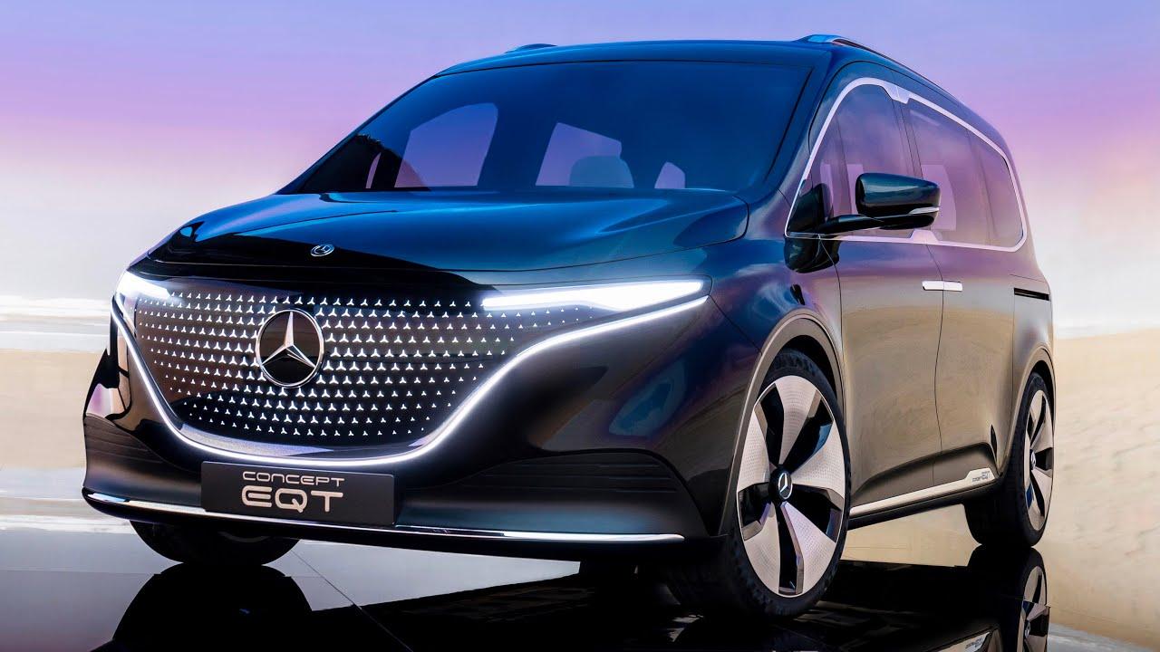 Mercedes EQT Concept 2022 – dimenzije, luda LED svjetla, VOŽNJA i datum izlaska
