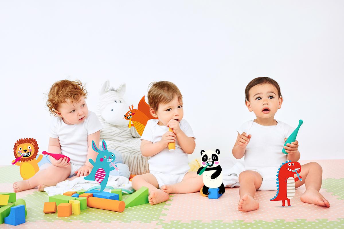 Predstavljamo neodoljive pomagače oralne higijene koje će vaša djeca obožavati