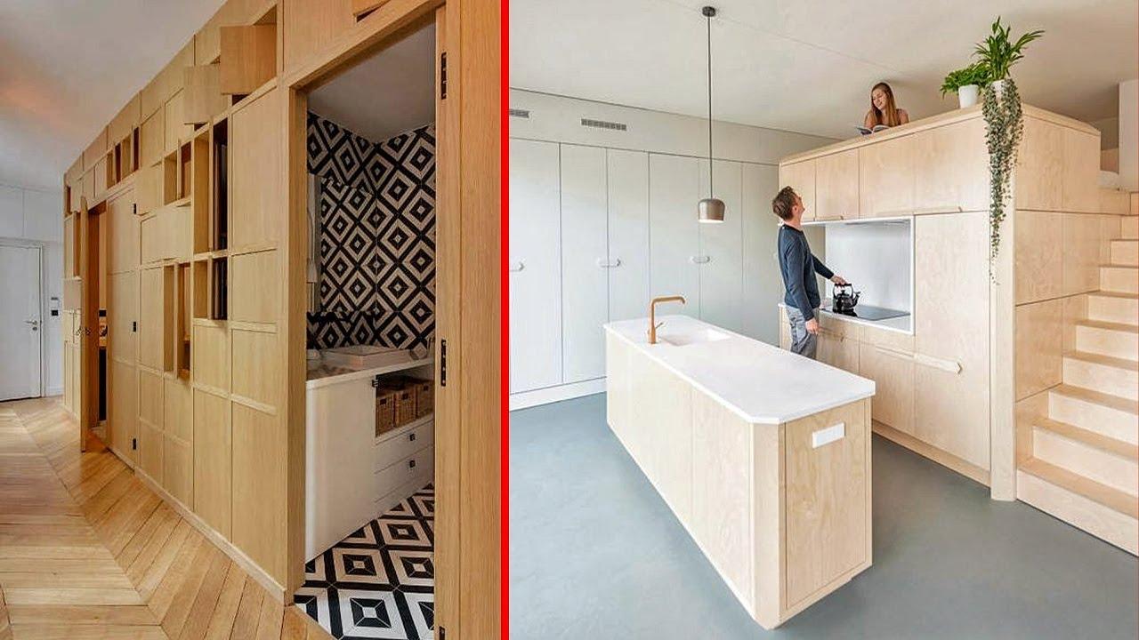 Namještaj na transformiranje i izvrsne ideje za uštedu prostora