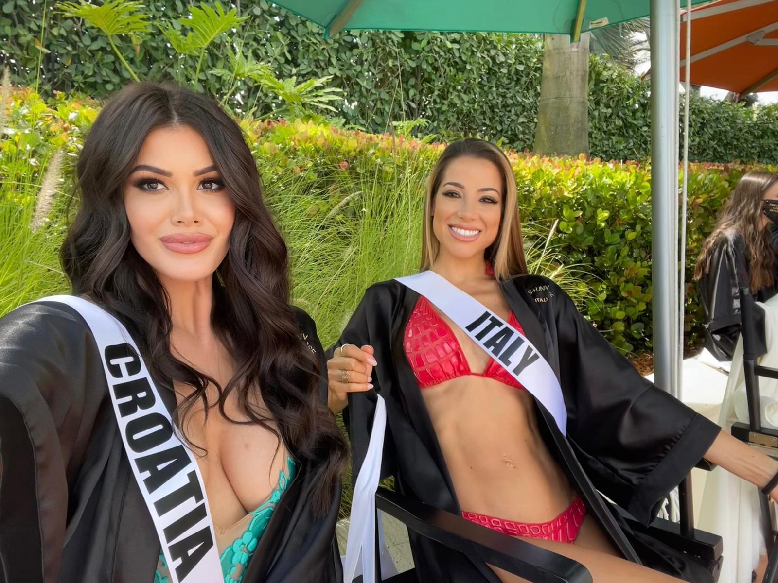 Hrvatska misica Mirna Naiia Marić u nedjelju na finalnom izboru za Miss Universe 2020.