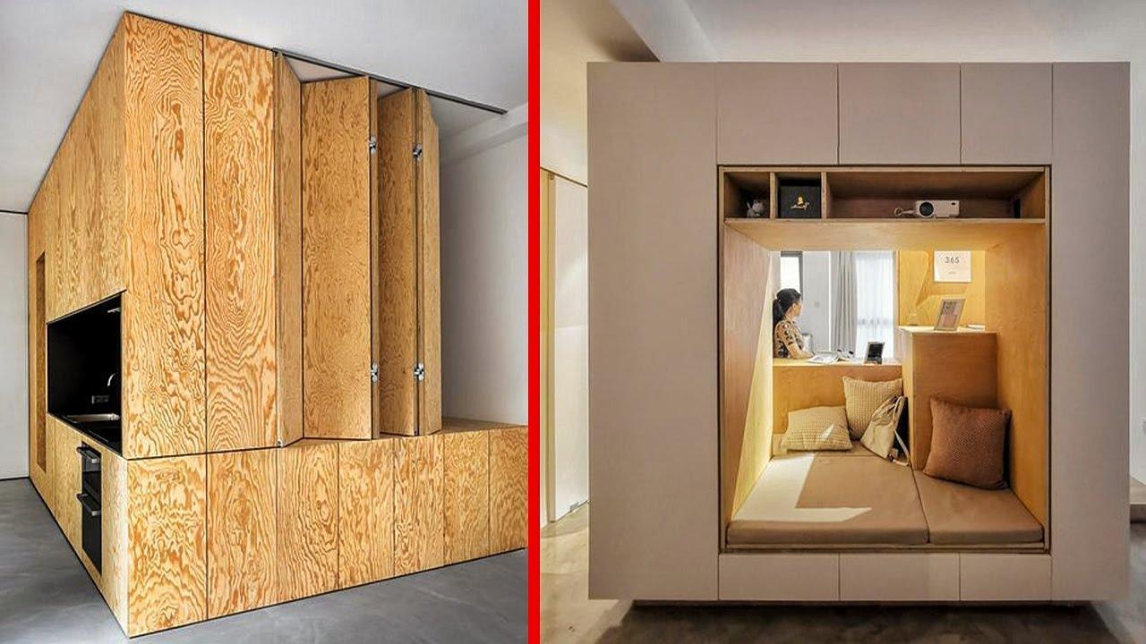 Nevjerojatan dizajn doma s pametnim namještajem