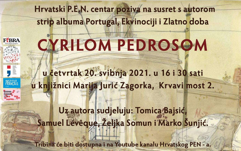 CYRIL PEDROSA u Knjižnici Marije Jurić Zagorke, 20. svibnja