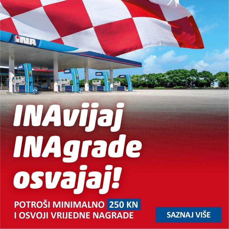 """INA, dokazano najbolja – Nagradna igra """"INAvijaj INAgrade osvajaj"""""""