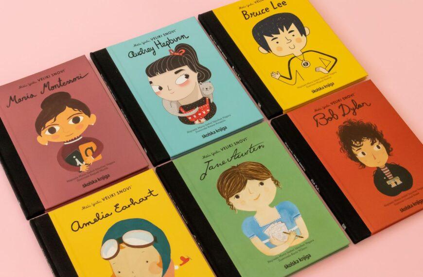 Mali ljudi, veliki snovi – izlazi nova serija omiljenih dječjih slikovnica