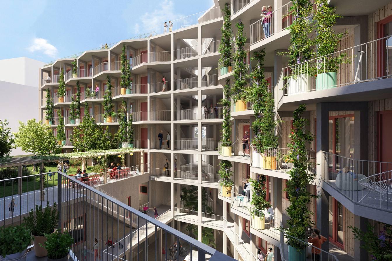 U Beču nastaje novo održivo naselje sa socijalnim stanovima