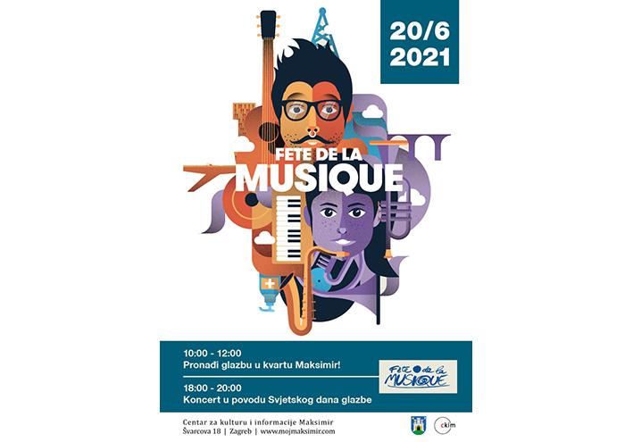 Svjetski dan glazbe u Maksimiru