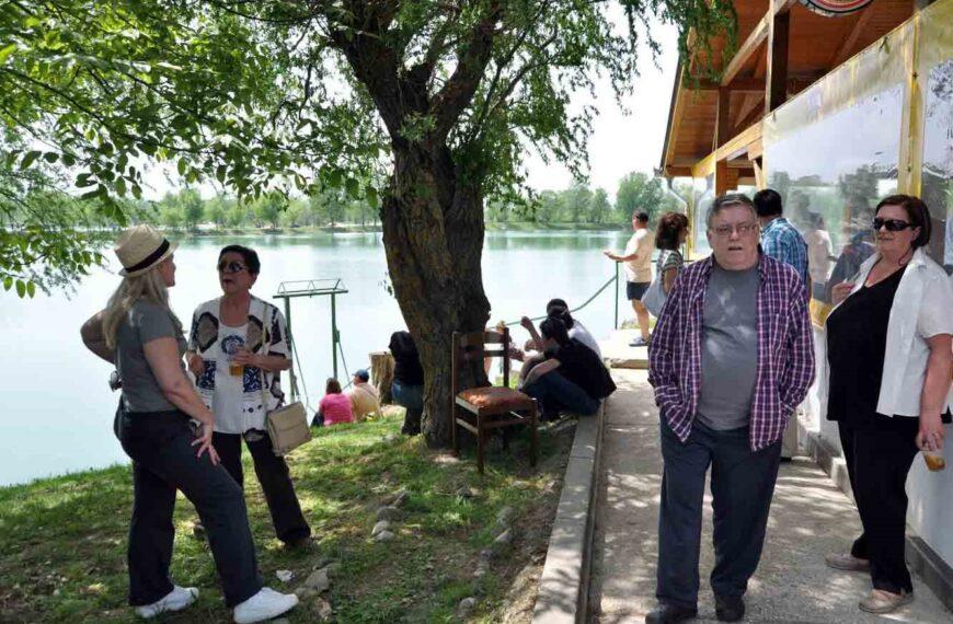 Likovna kolonija Kluba Zapreščan na Malom jezeru Zajarki u Zaprešiću, 26. lipnja