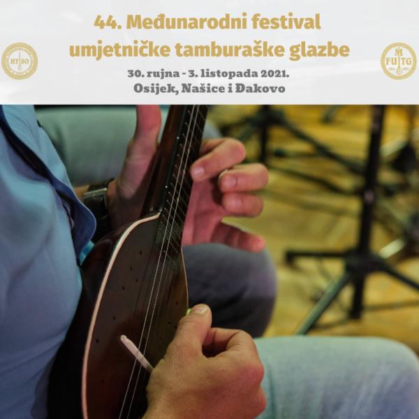 Prijave za sudjelovanje na 44. Međunarodnom festivalu umjetničke tamburaške glazbe otvorene do 1. rujna