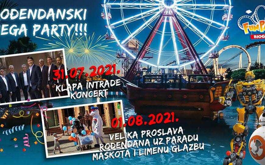 Fun park Biograd pripremio mega-rođendanski party