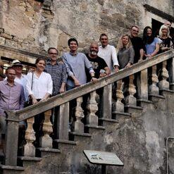 Otvorenje izložbe likovnih radova trećeg FECITa, međunarodnog samita likovnih umjetnika u Grožnjanu / foto