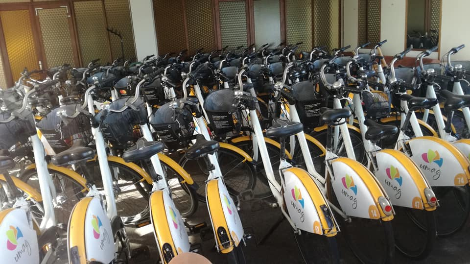 Javni servis za prijevoz biciklima u Umagu