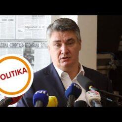 Predsjednik Milanović o cijepljenju, epidemiološkim mjerama i turizmu