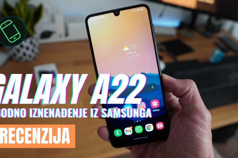 Samsung Galaxy A22 – ugodno iznenađenje