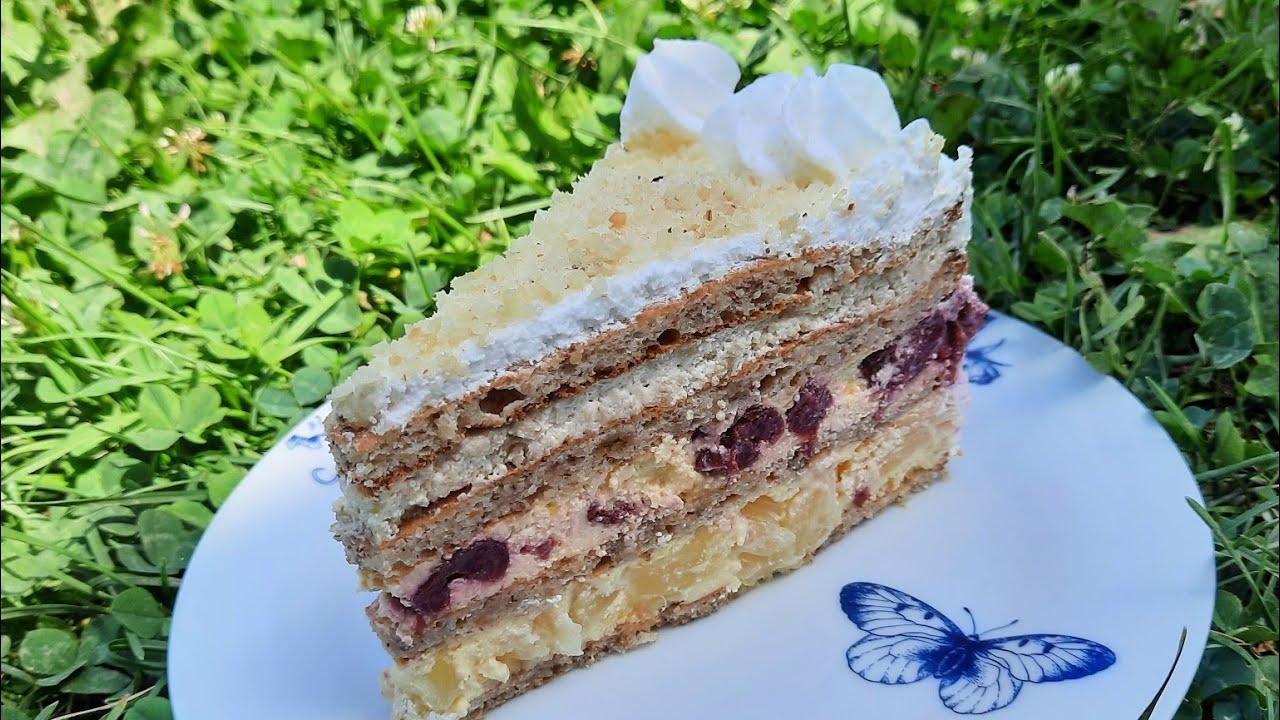 Moskva šnit torta – Moscow cake / Marijina kuhinjica