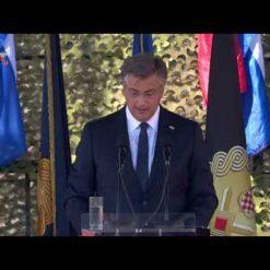 Govor premijera Andreja Plenkovića u Kninu