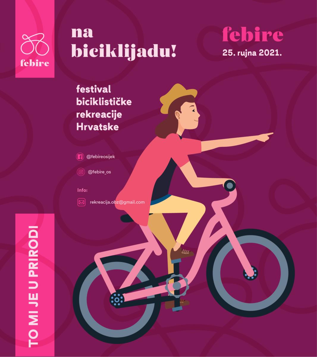 FEBIRE 2021. – FESTIVAL BICIKLISTIČKE REKREACIJE HRVATSKE