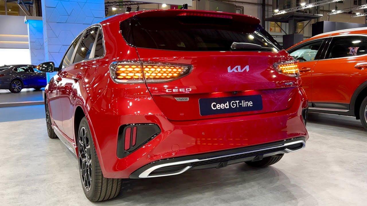 Nova KIA CEED 2022 Facelift – CRAZY LED svjetla, dinamički indikatori i digitalni pogledi u kabini / GT linija