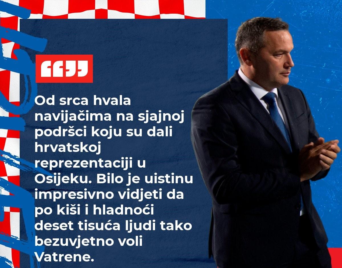 Tekma Hrvatske reprezentacije iz novinarskog ugla