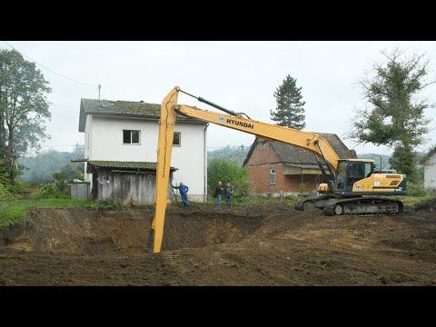 Započelo zatrpavanje rupa u Mečenčanima nastalih tijekom potresa