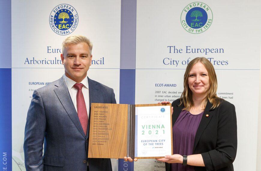 Beč proglašen europskom prijestolnicom drveća 2021.