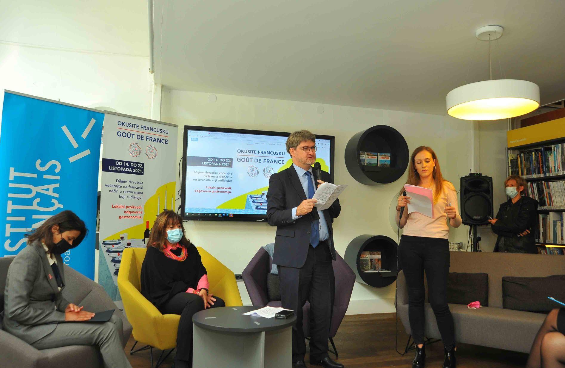 Goût de / Good France 2021 (Okusi Francusku) – u Francuskom institutu u Zagrebu predstavljena manifestacija