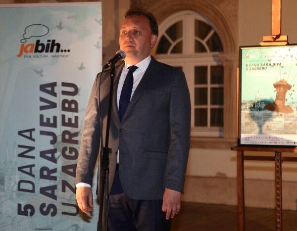 Svečano otvoren 10. Ja BiH… Pet dana Sarajeva u Zagrebu