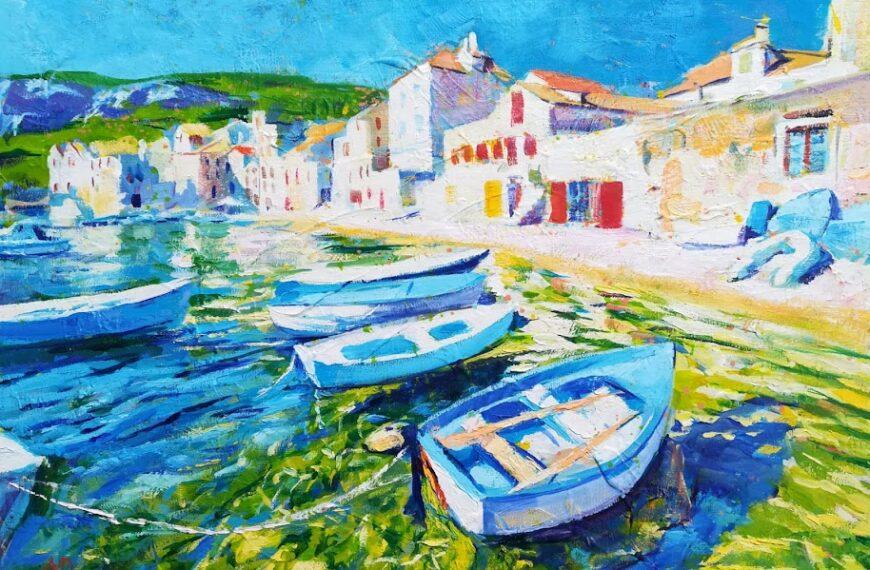 Mihovil Dorotić, slikar mora
