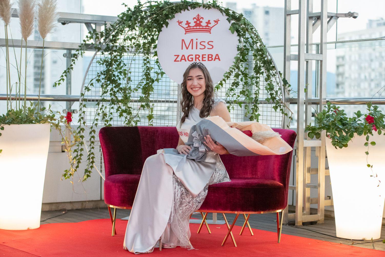 Miss Zagreba za Miss Hrvatske je Lucija Begić
